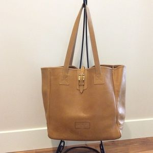 Dooney & Bourke Large Natural Leather Russel Tote